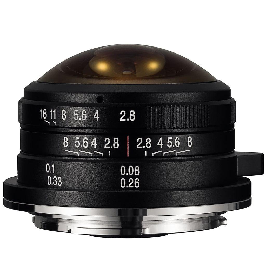 LAOWA 4mm 1:2,8 Circular Fisheye f. MFT