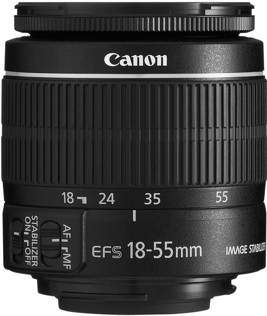 Canon EF-S 18-55mm 1:3,5-5,6 IS II aus Set