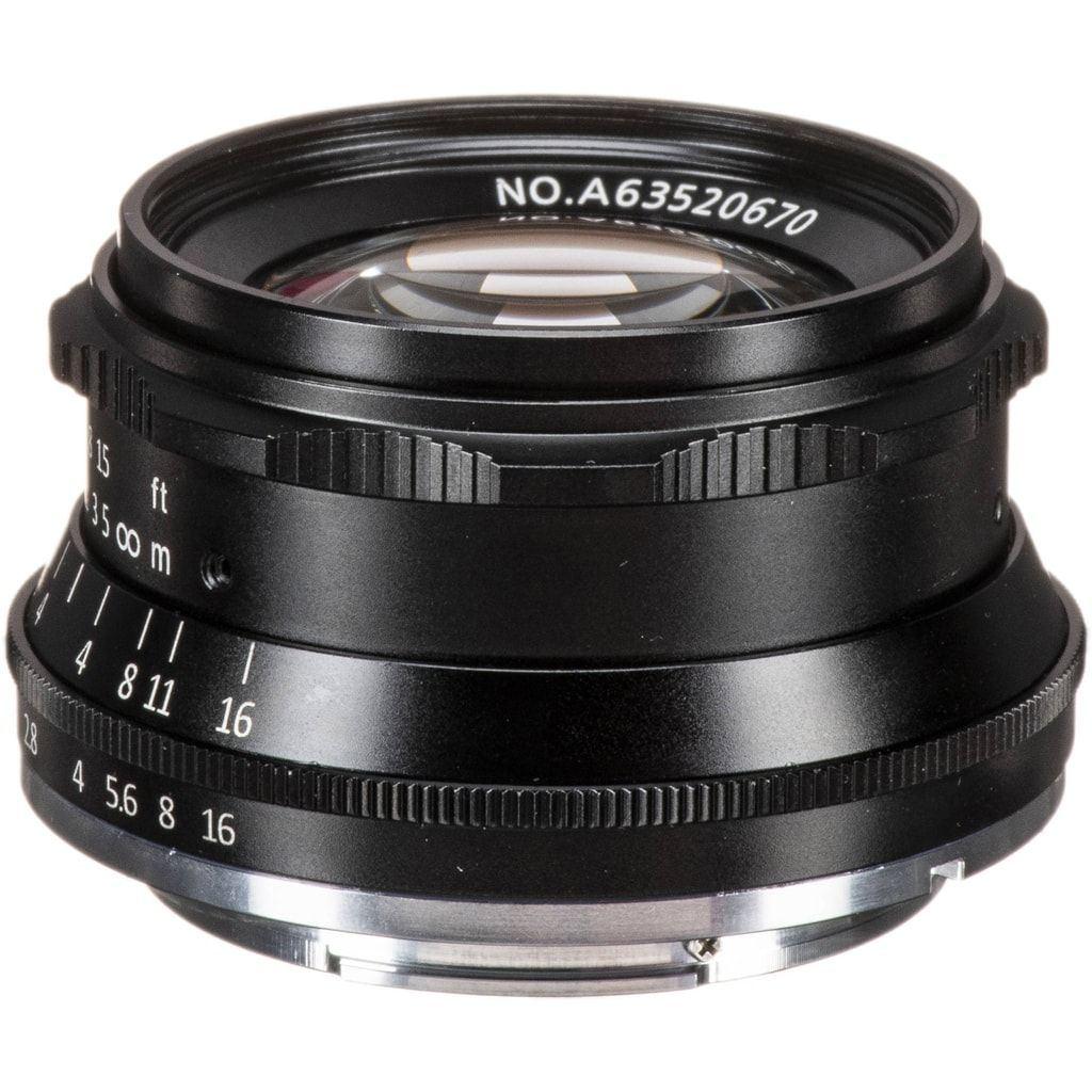 7Artisans 35mm 1:1,2 für Sony E schwarz