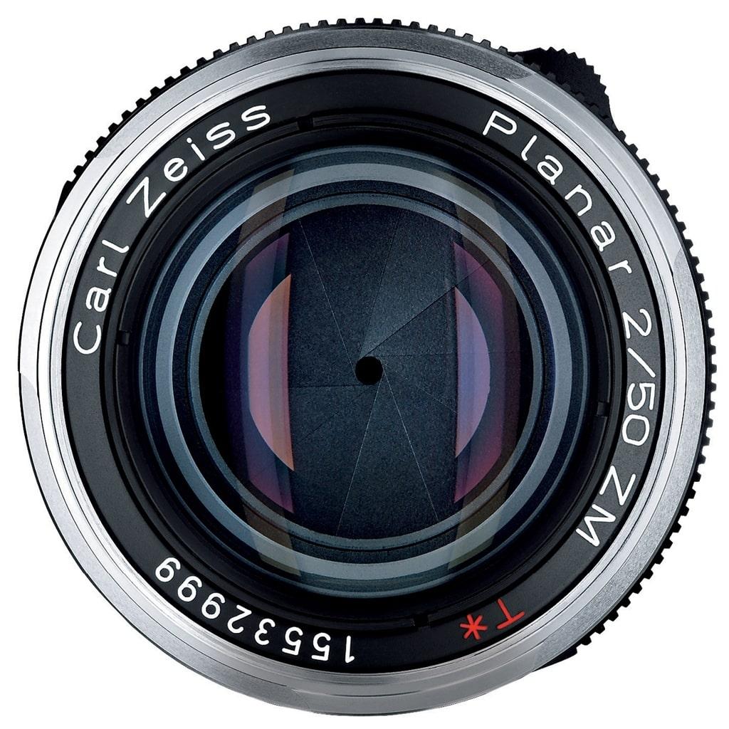 ZEISS Planar T* 50mm 1:2,0 ZM f. Leica M silber