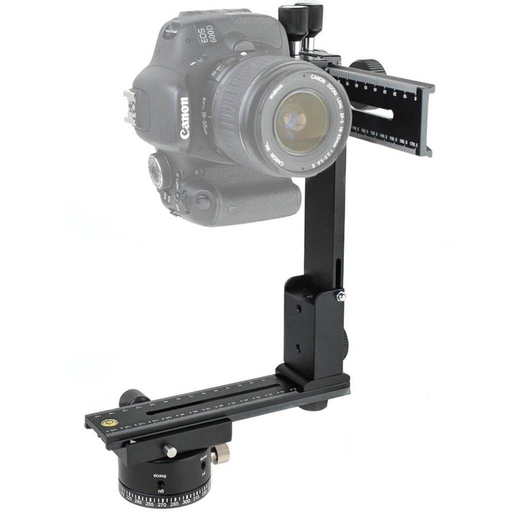 Quenox Panorama Stativkopf QPH1 MKII f. DSLRs + Systemkameras