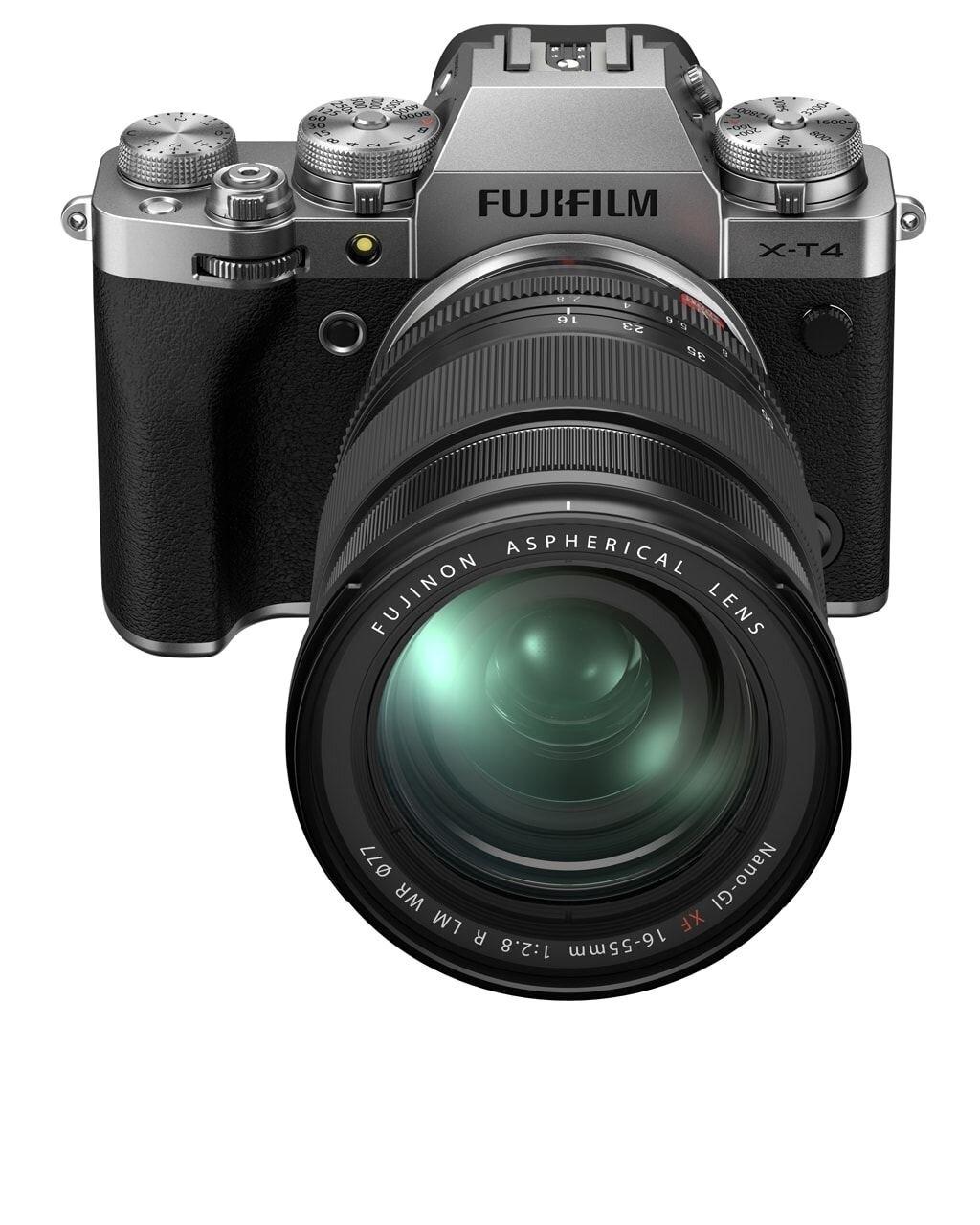 Fujifilm X-T4 silber inkl. XF 16-55mm 1:2,8 R LM WR
