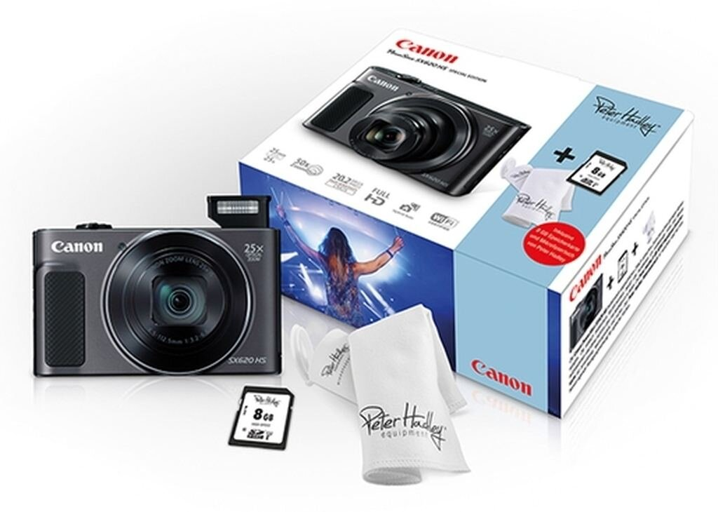 Canon PowerShot SX 620 HS weiß Kit Special Edition