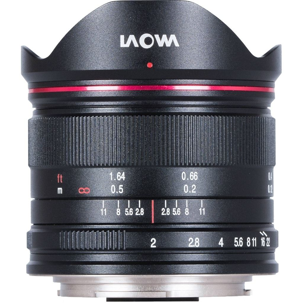 LAOWA 7,5mm 1.2,0 drone für MFT schwarz