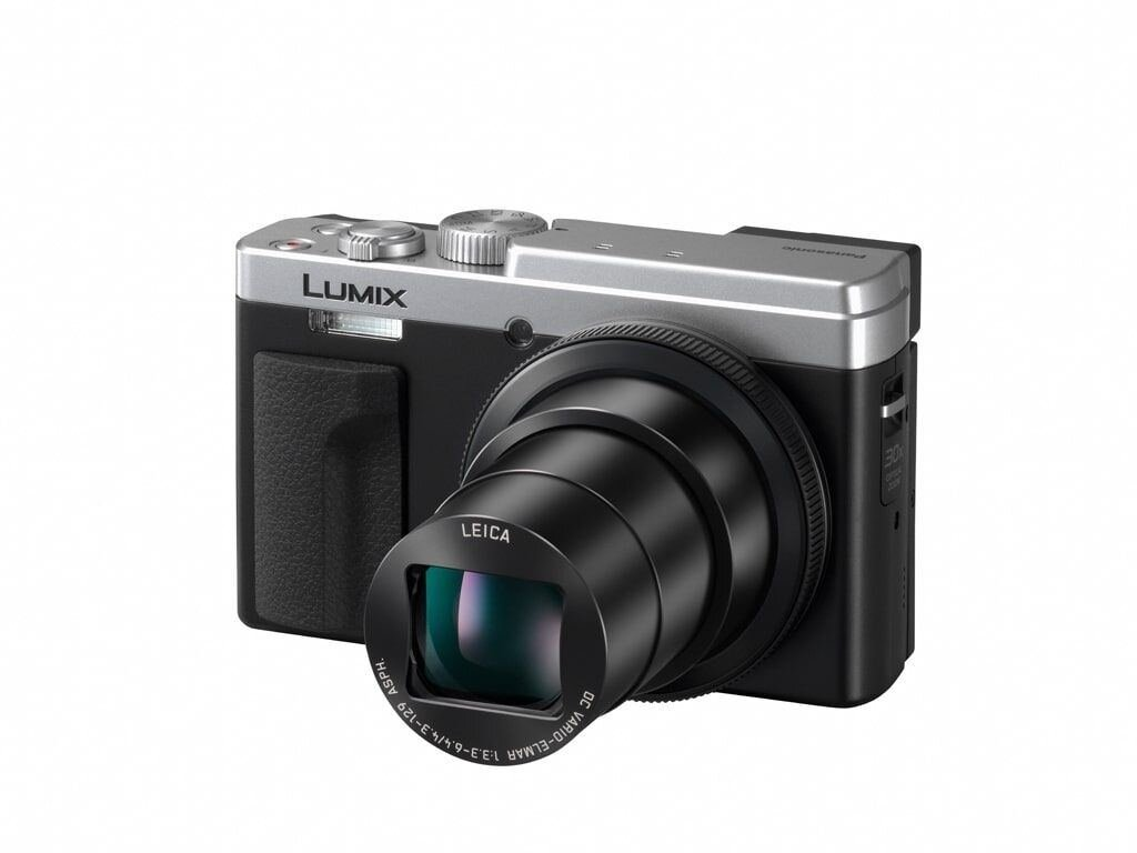 Panasonic Lumix DC-TZ96 silber Special Edition inkl. 32GB SDHC Speicherkarte + Tasche