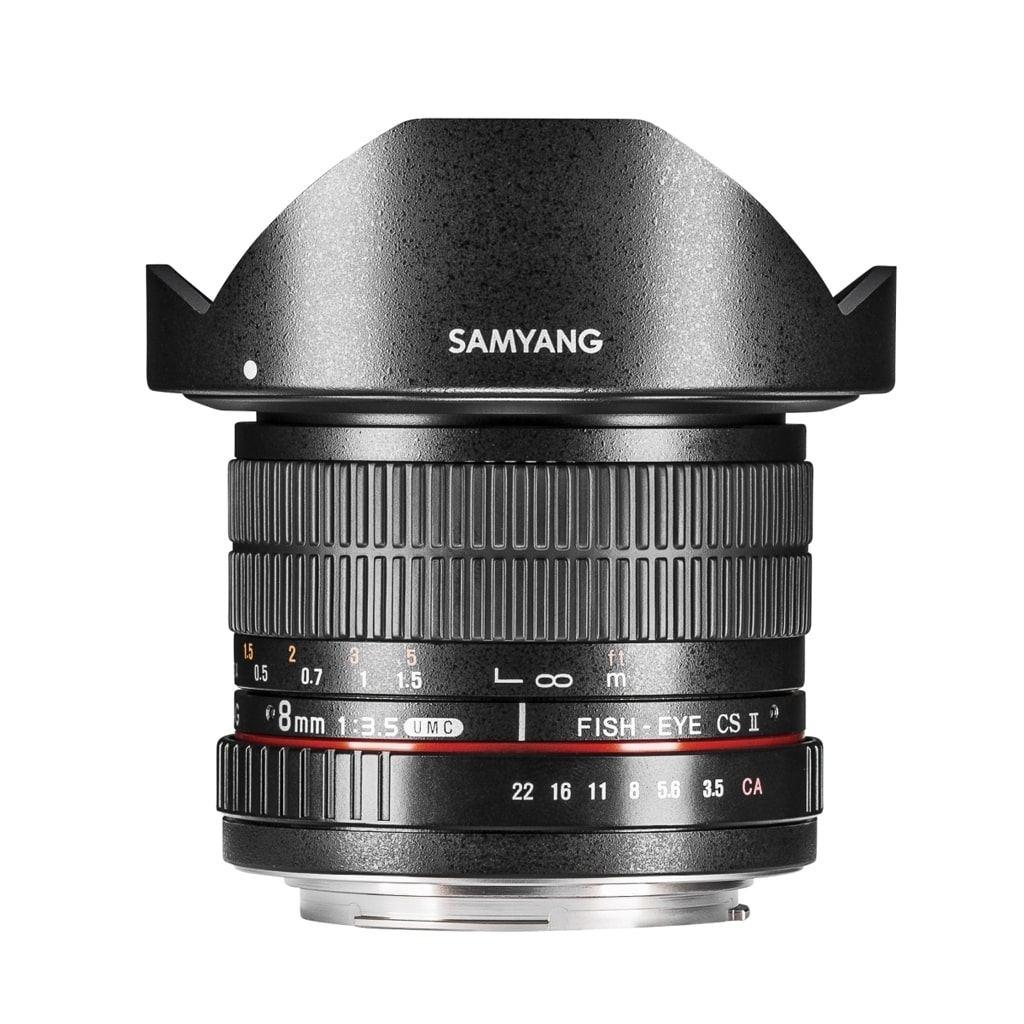 Samyang MF 8mm 1:3,5 Fisheye II APS-C für Sony E