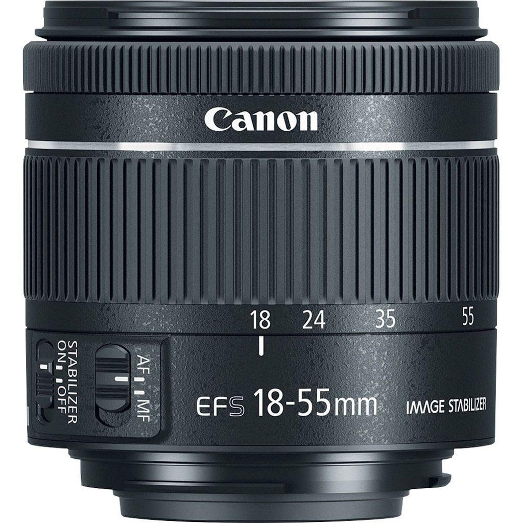 Canon EF-S 18-55mm 1:4-5,6 IS STM aus Set