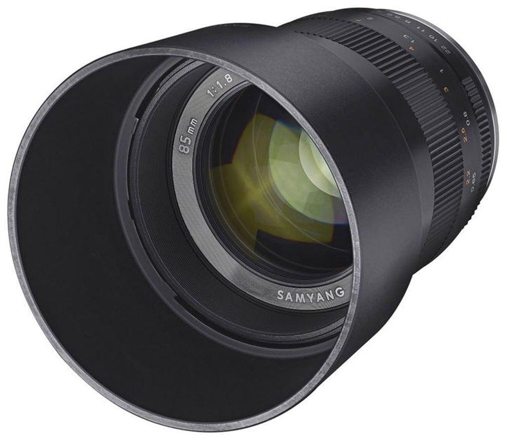 Samyang MF 85mm 1:1,8 ED UMC CS für Fuji X black