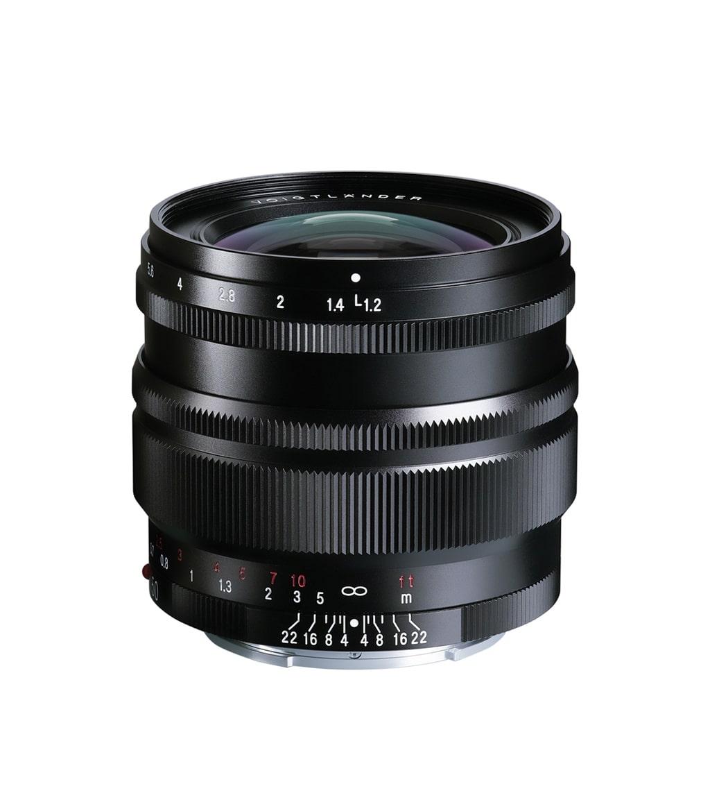 Voigtländer Sony E Mount 50mm 1:1,2 Nokton SE schwarz