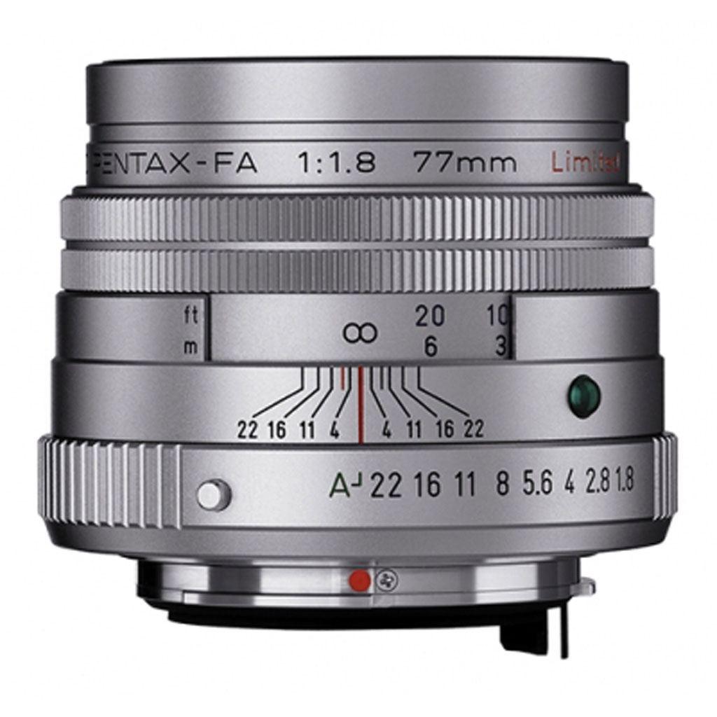 Pentax SMC FA 77mm 1:1,8 Limited silber