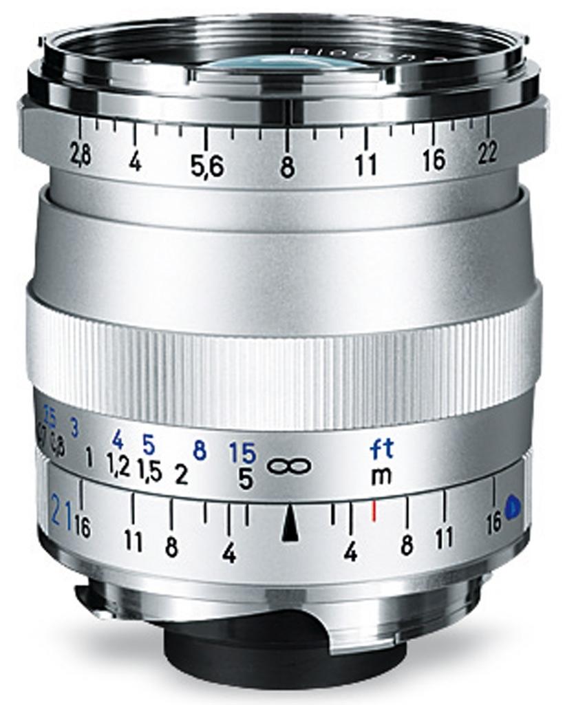 ZEISS Biogon T* 21mm 1:2,8 ZM f. Leica M silber