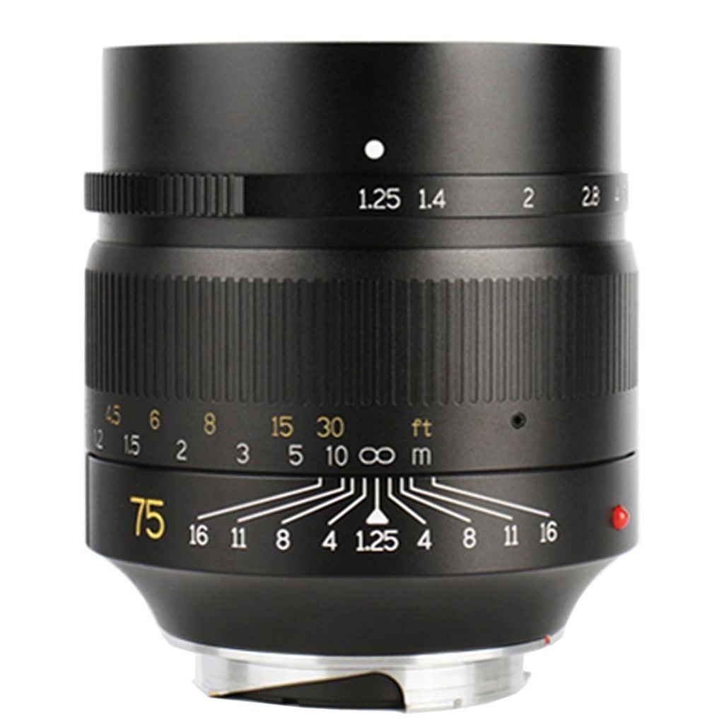 7Artisans 75mm 1:1,25 für Leica M