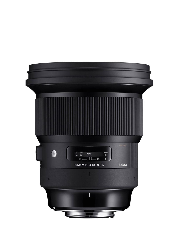 Sigma 105mm 1:1,4 DG HSM Art für Canon EF
