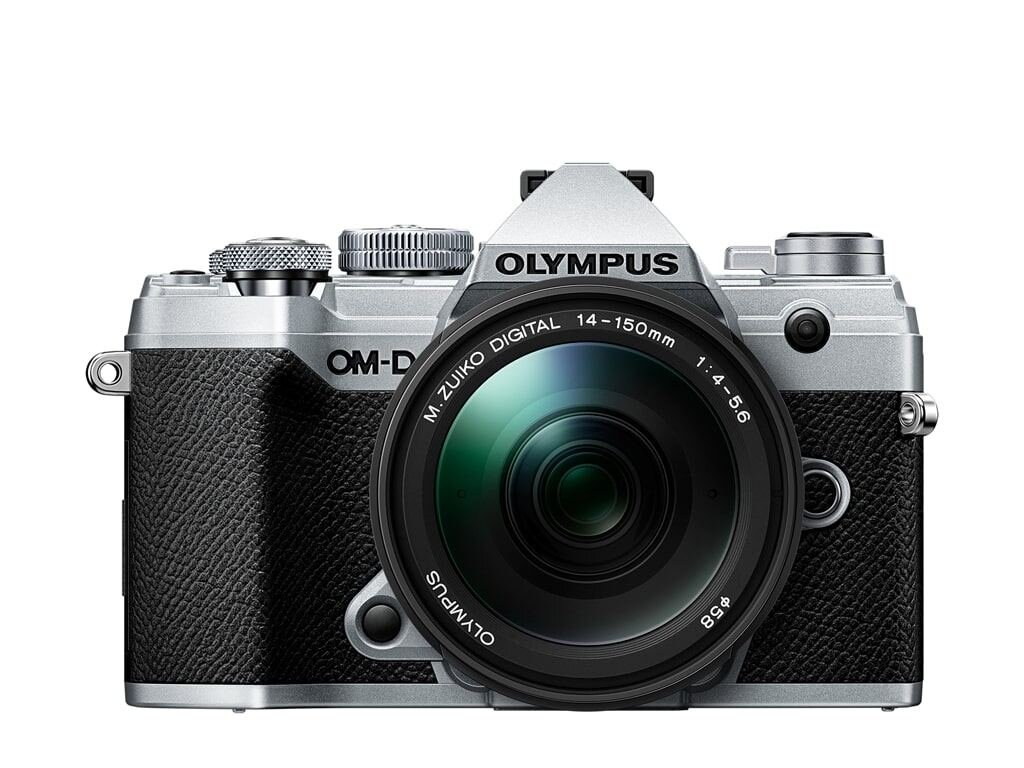 Olympus OM-D E-M5 Mark III silber + M.Zuiko Digital ED 14-150mm 1:4,0-5,6 II