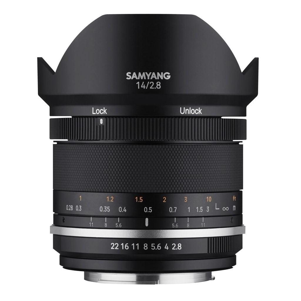 Samyang MF 14mm 1:2,8 MK2 Canon EF-M