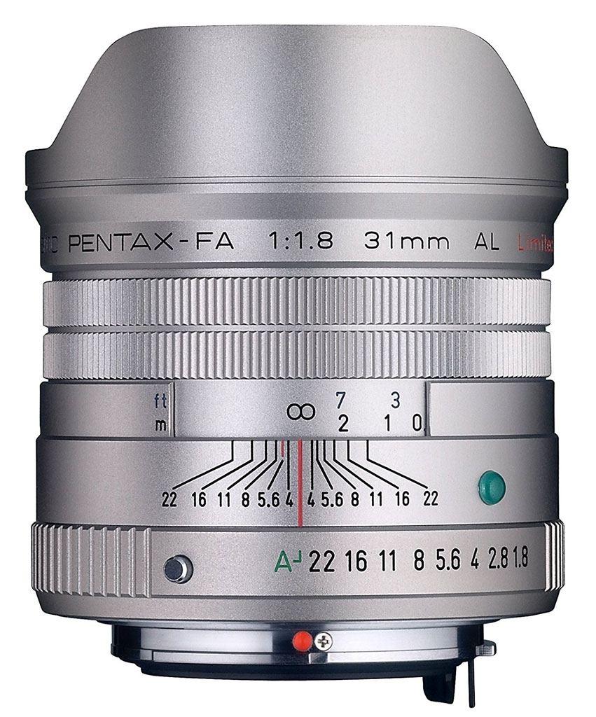 Pentax SMC FA 31mm 1:1,8 AL Limited silber