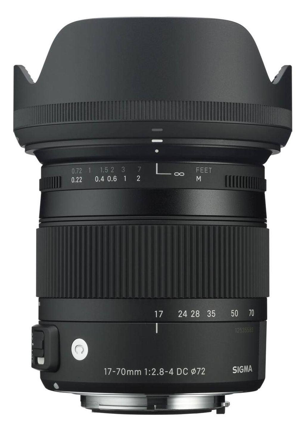 Sigma 17-70mm 1:2,8-4,0 DC Macro OS HSM Contemporary für Canon EF