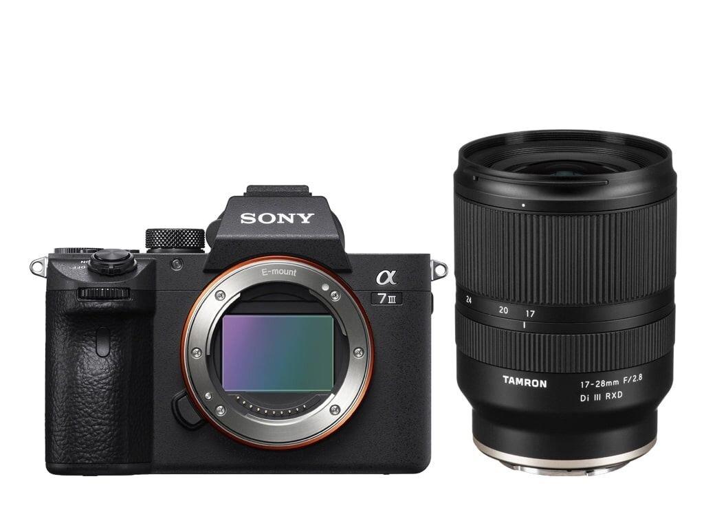 Sony Alpha 7 III (ILCE7M3B) + Tamron 17-28mm 1:2,8 Di III RXD