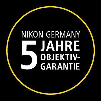 Nikon AF-S 58 mm 1:1,4 G + Nikon 5-Jahre-Garantie-Aktion