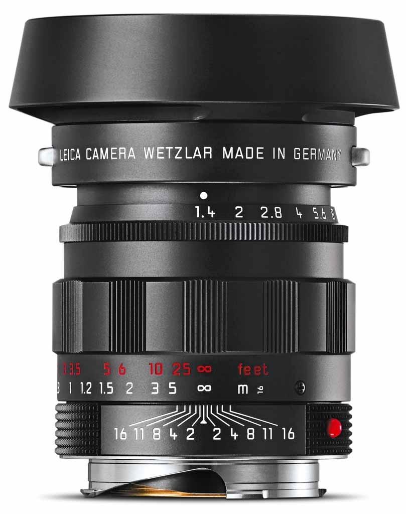 LEICA SUMMILUX-M 1.4/50 mm ASPH - schwarz verchromt 11688