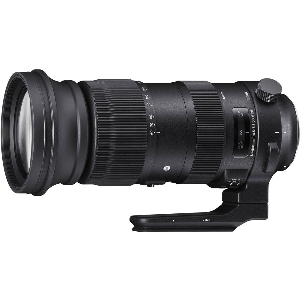 Sigma 60-600mm 1:4,5-6,3 DG OS HSM Sports für Nikon