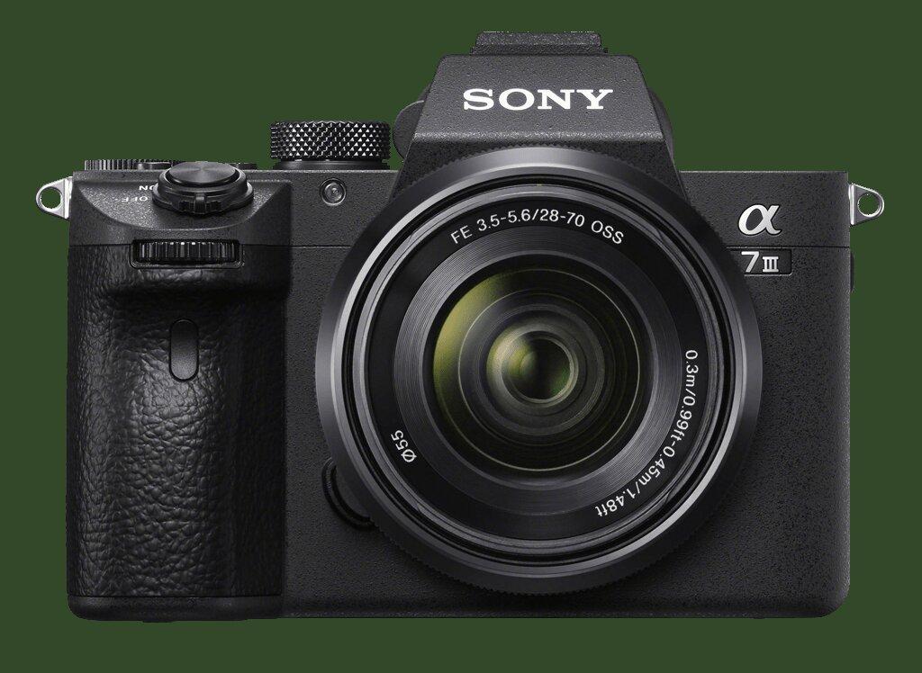Sony Alpha 7 III (ILCE7M3B) + SEL FE 28-70mm 1:3,5-5,6 OSS (ILCE7M3KB Kit) + SEL FE 40mm 1:2,5 G (SEL40F25G)