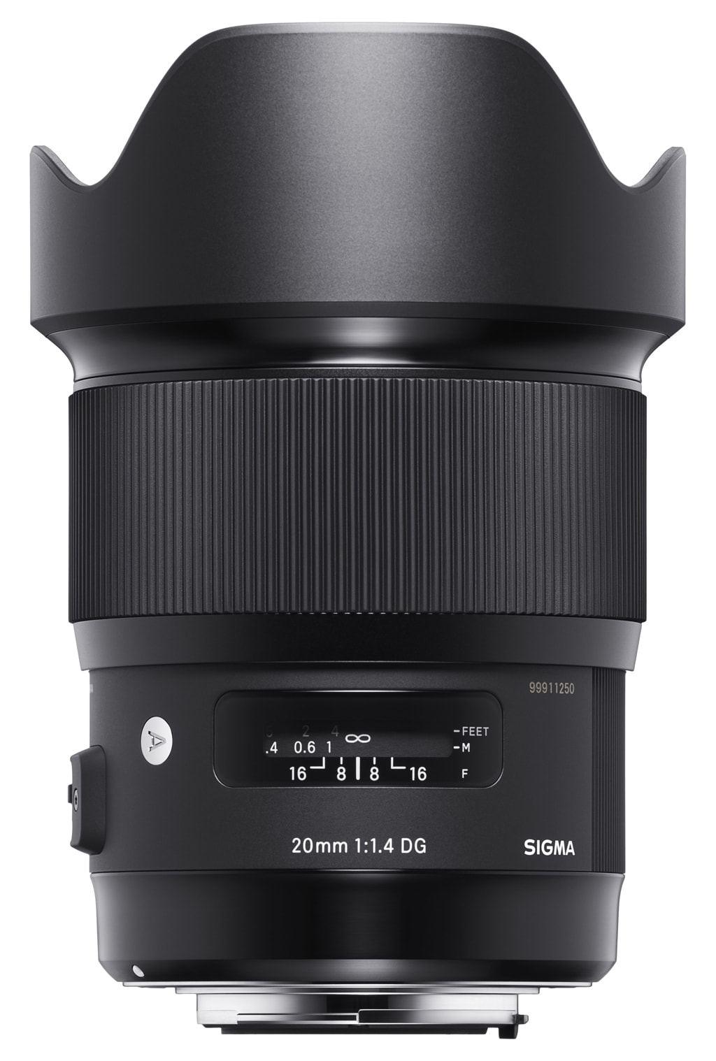 Sigma 20mm 1:1,4 DG HSM Art für Canon EF