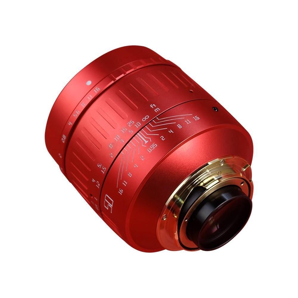 TTArtisan M 50mm 1:0,95 für Leica M Red OX 2021 Special Edition