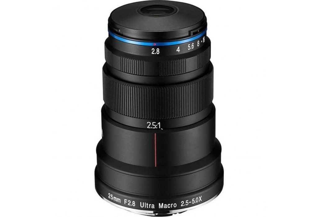 LAOWA 25mm 1:2,8 Ultra-Macro 2,5-5x für Canon EF