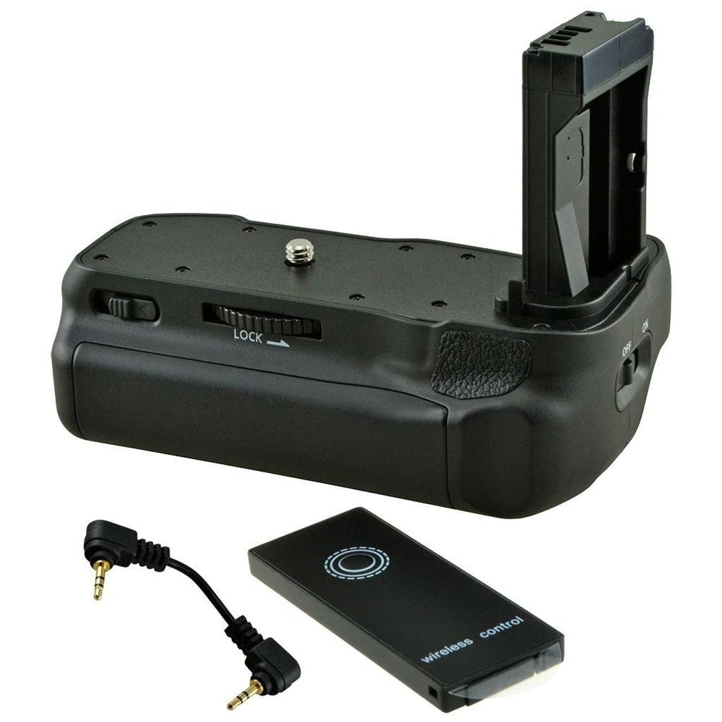 Jupio JBG-C018 Batteriegriff für Canon EOS R inkl. Fernauslöser