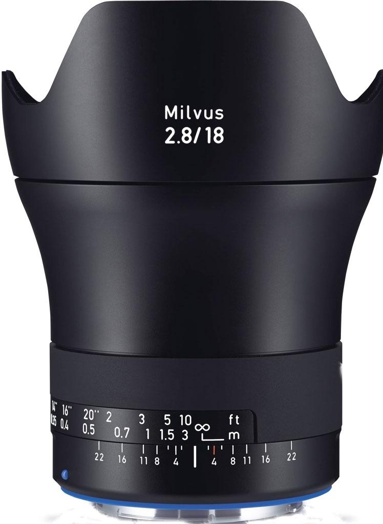 ZEISS Milvus 18mm 1:2,8 ZE f. Canon EOS