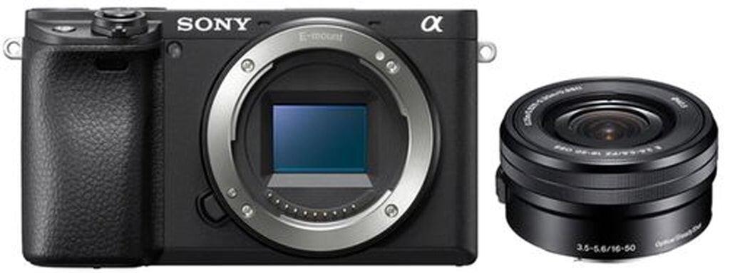 Sony alpha 6400 (ILCE6400B) + SEL-P 16-50mm 1:3,5-5,6 OSS PZ (SELP1650)