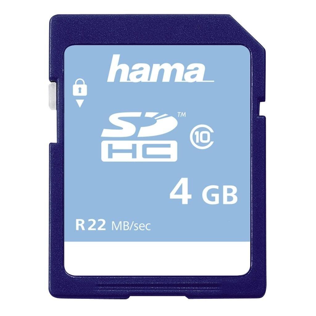 Hama SDHC 4GB C10 22MB/s
