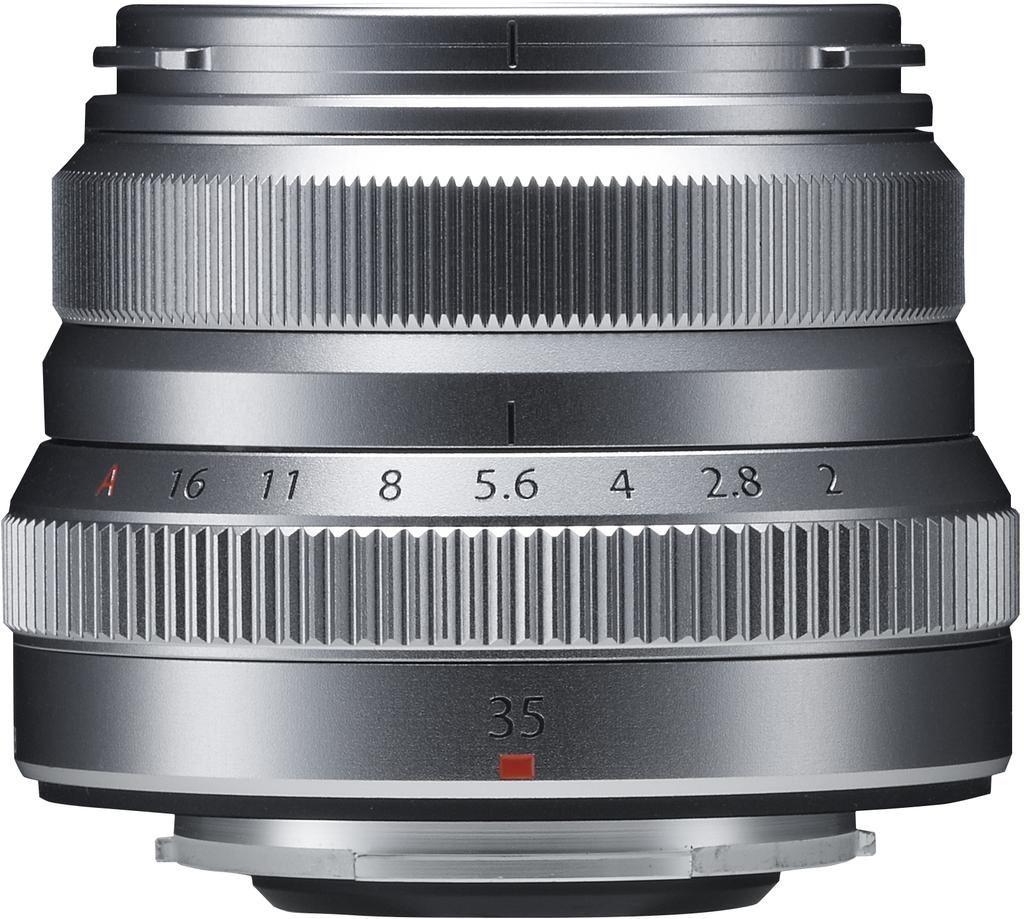 Fujifilm XF 35mm 1:2,0 R WR silber