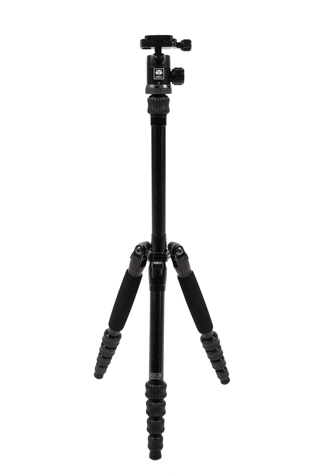 SIRUI Traveler 7C Reise-Dreibeinstativ Carbon schwarz mit Kugelkopf
