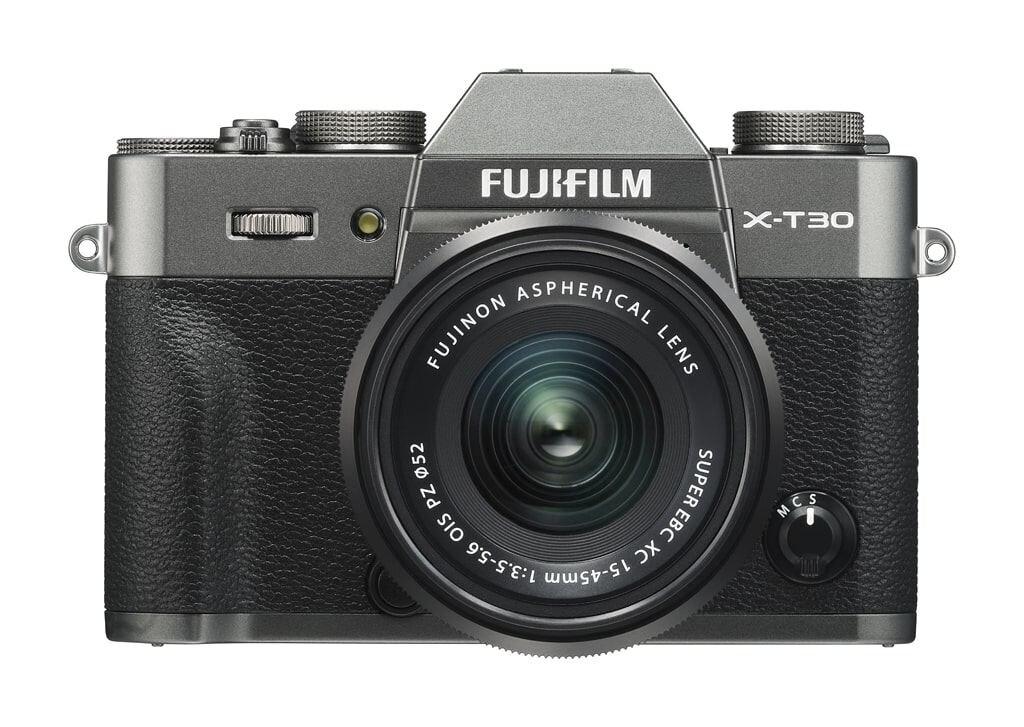 Fujifilm X-T30 anthrazit inkl. XC 15-45mm 1:3,5-5,6 OIS PZ