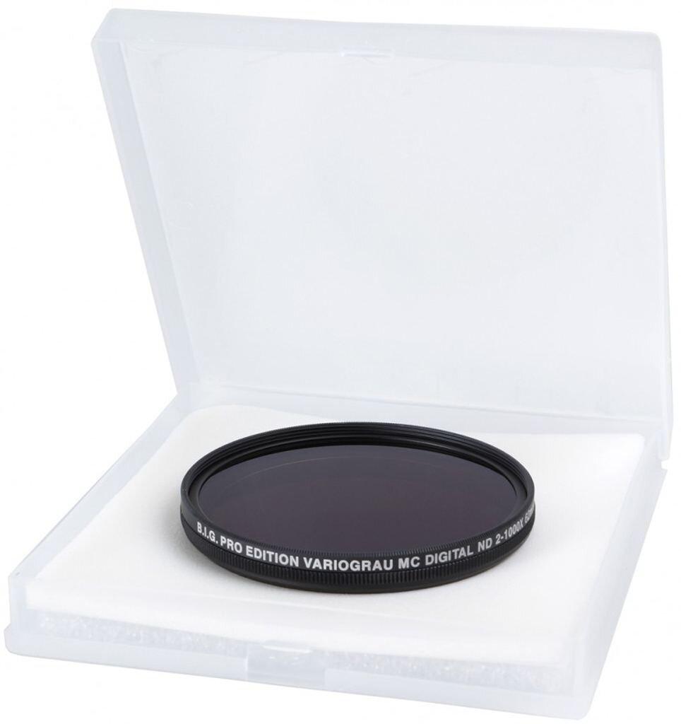B.I.G. Pro Edition Vario Graufilter ND2-1000X 62mm