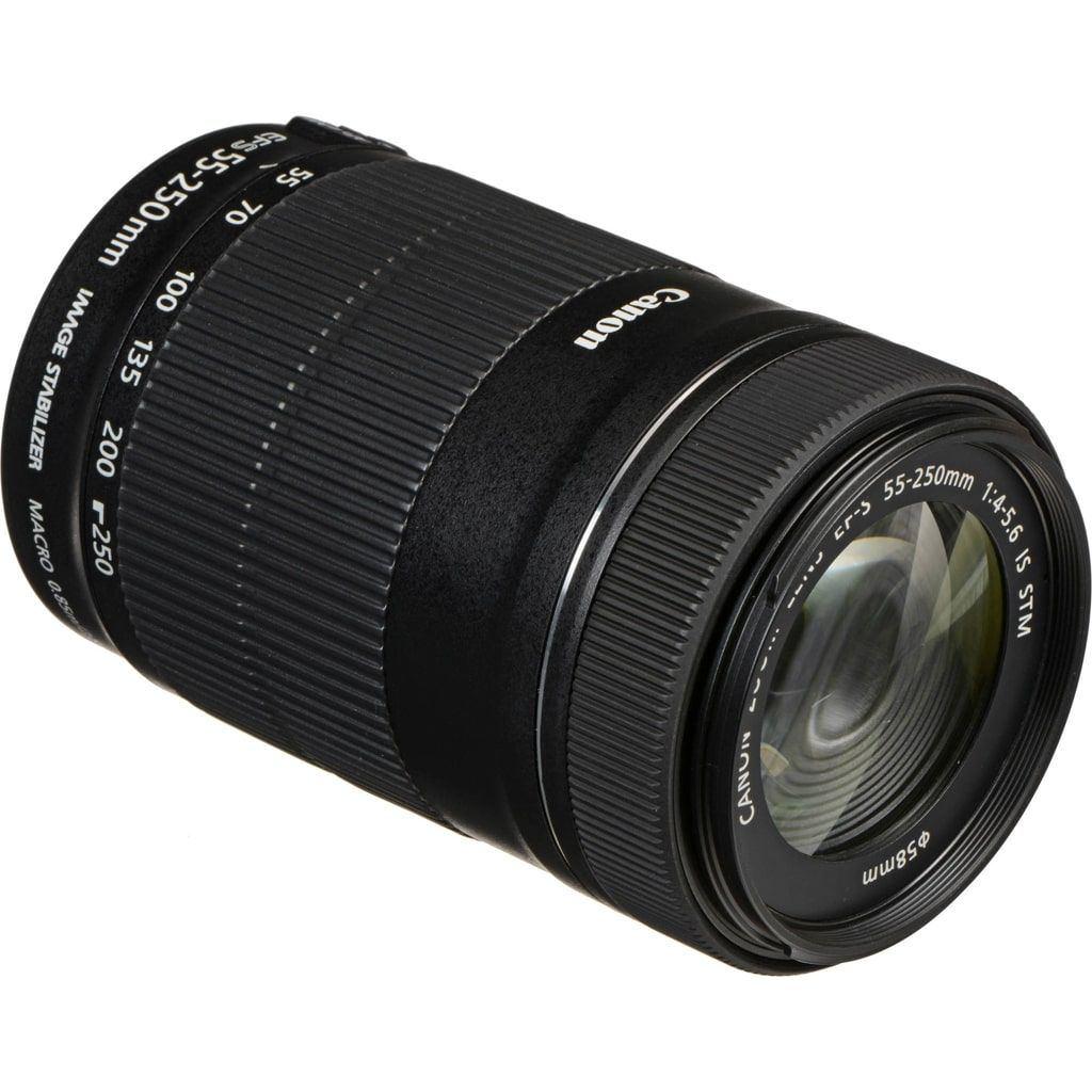 Canon EF-S 55-250mm 1:4,0-5,6 IS STM aus Set