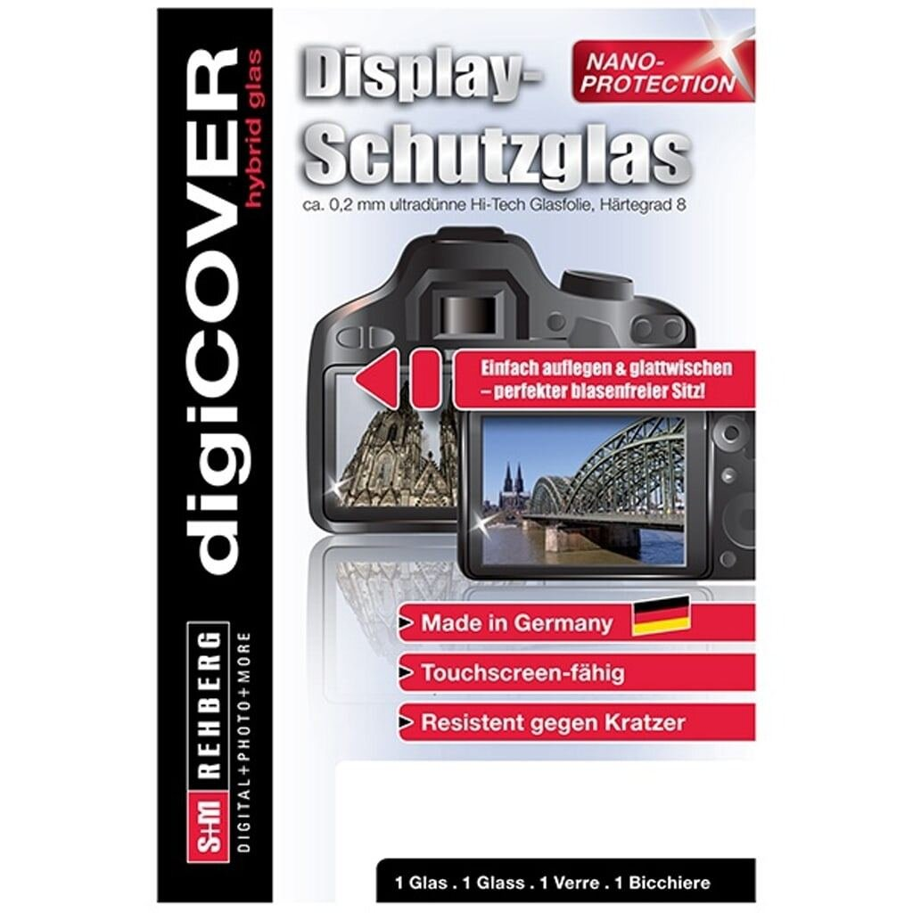 digiCOVER Display Schutzglas f. Sigma FP