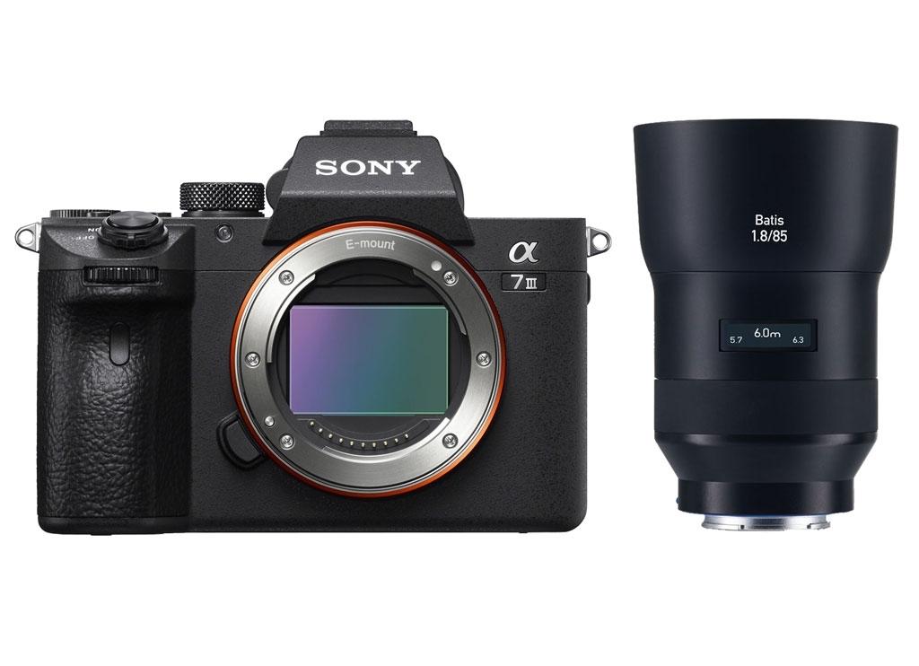 Sony Alpha 7 III (ILCE7M3B) + Zeiss Batis 85mm 1:1,8