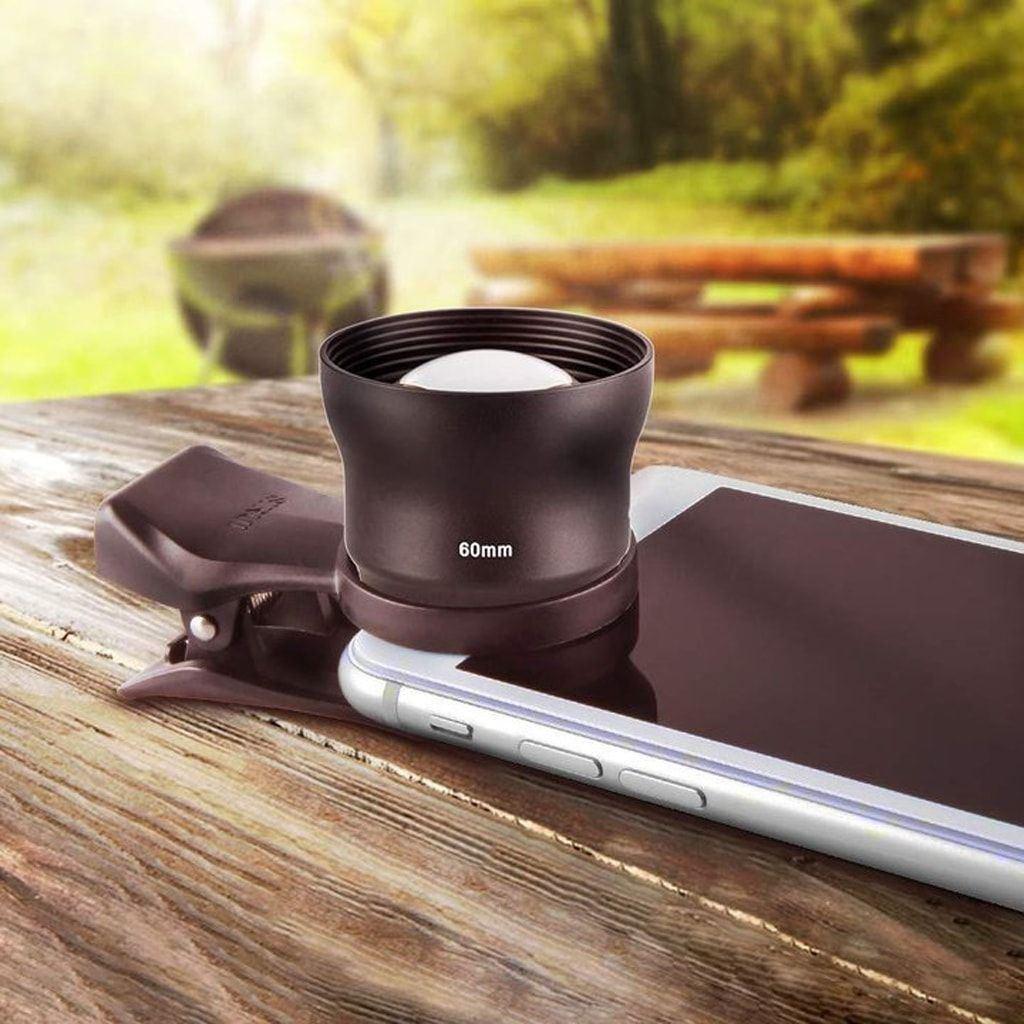 SIRUI 60-SA Smartphone Portrait-Vorsatzobjektiv 60mm mit Clip für Smartphones