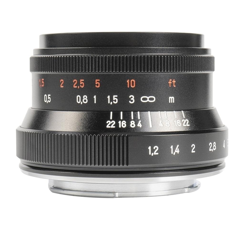 7Artisans 35mm 1:1,2 II für Canon EF-M