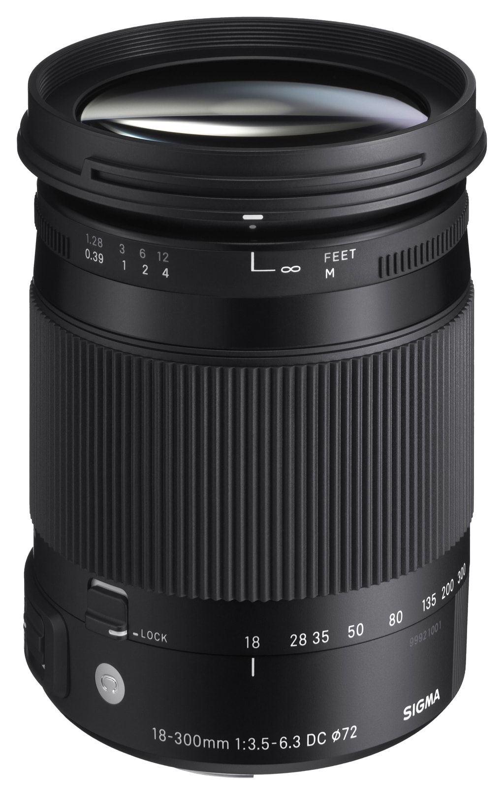 Sigma 18-300mm 1:3,5-6,3 DC Macro OS Contemporary für Nikon