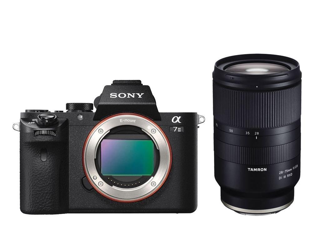 Sony Alpha 7 II (ILCE-7M2) + Tamron 28-75mm 1:2,8 Di III RXD