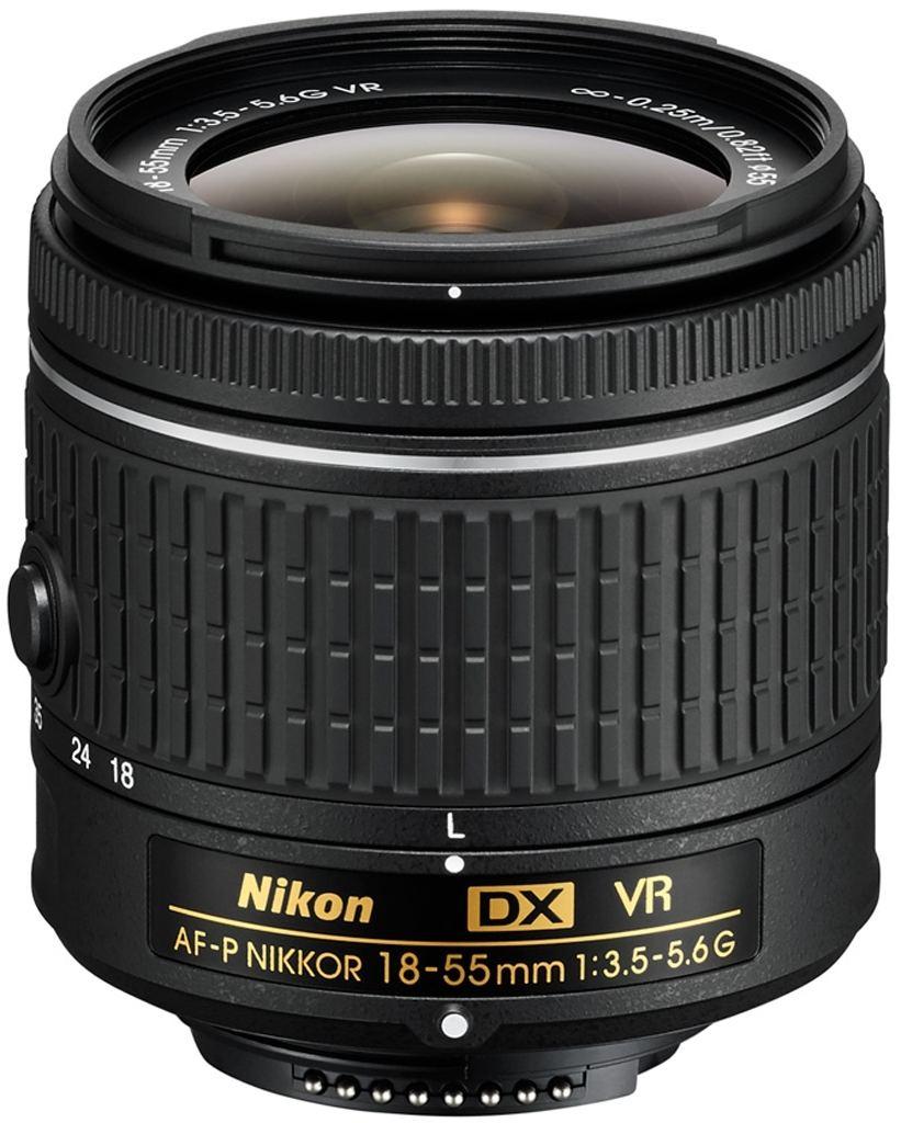 Nikon AF-P DX 18-55mm 1:3,5-5,6 G VR aus Set