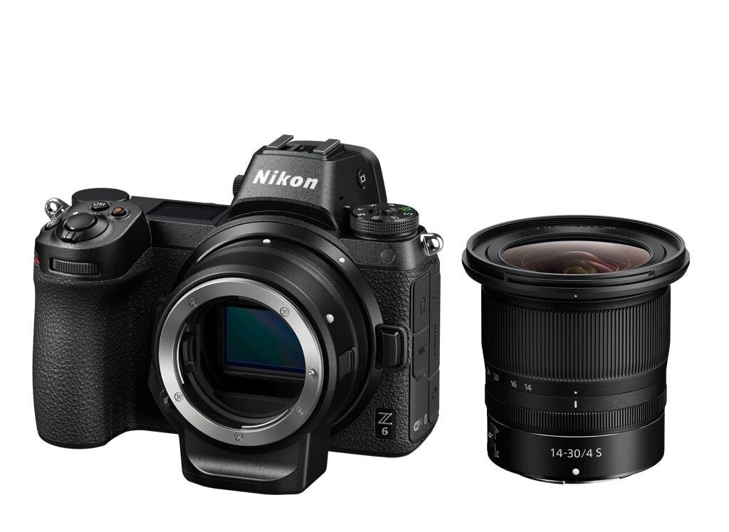 Nikon Z6 + NIKKOR Z 14-30mm 1:4,0 S + FTZ Objektivadapter