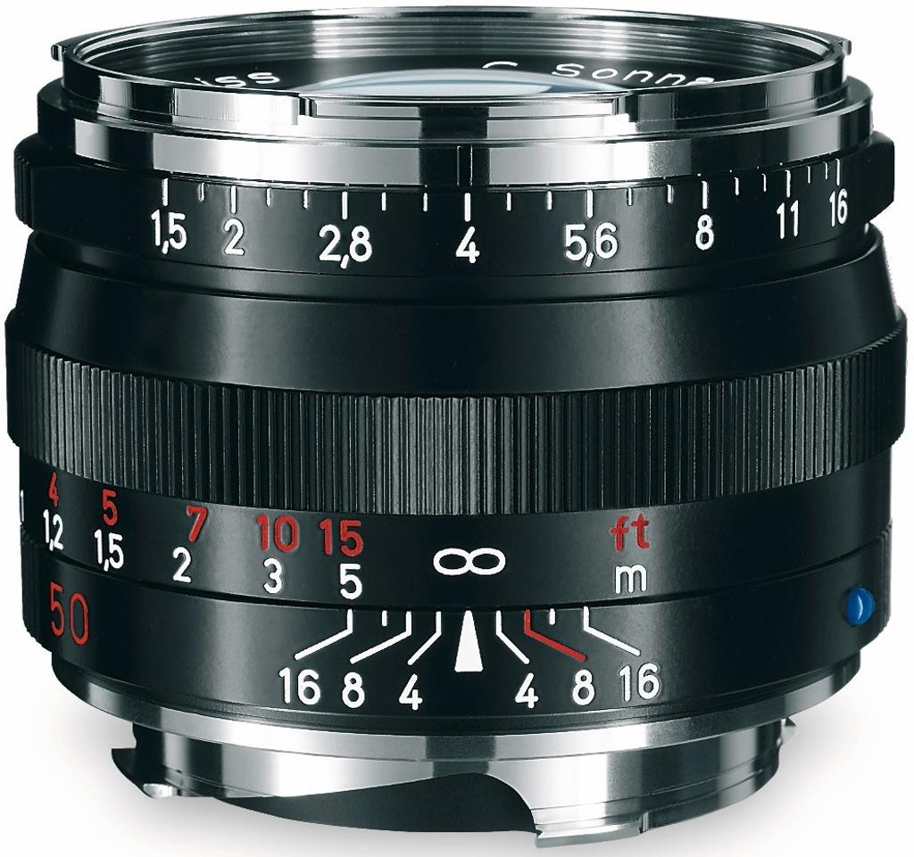 ZEISS C Sonnar T* 50mm 1:1,5 ZM f. Leica M schwarz