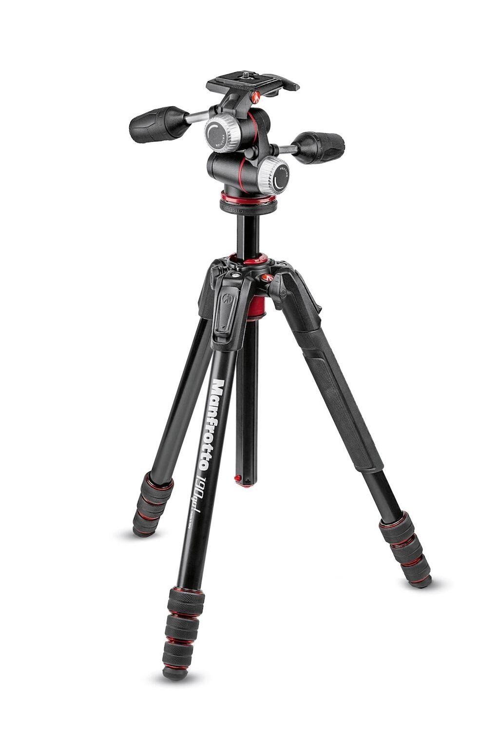 Manfrotto MK190GOA4-3WX 190go! Alu Kit mit XPRO 3-Wege-Neiger