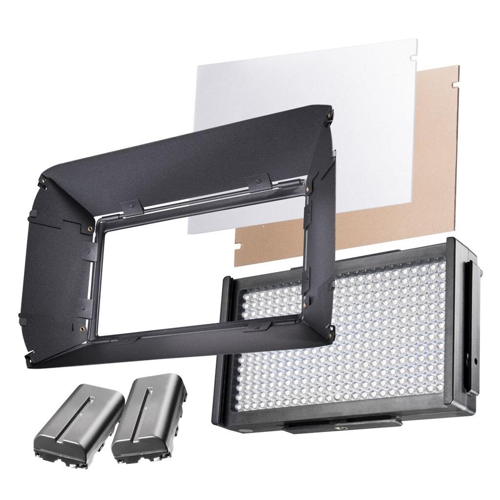 Walimex Pro Foto Video LED Square 312 Daylight Set