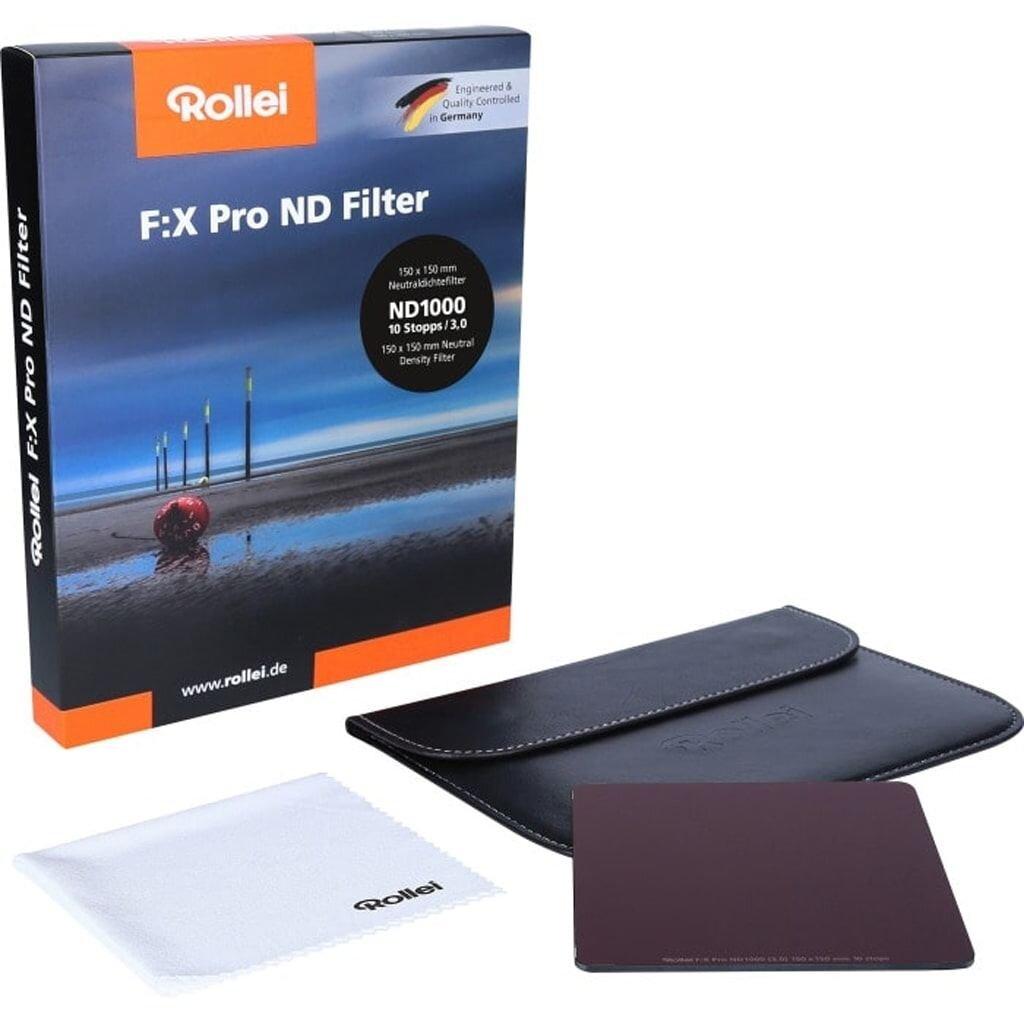 Rollei F:X Pro ND1000 Graufilter 150mm Rechteckfilter